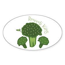 Broccoli King Decal