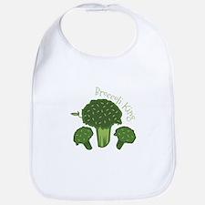 Broccoli King Bib