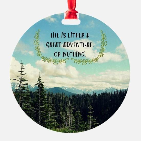 A Great Adventure Ornament