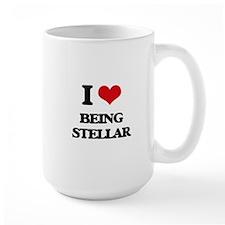 I love Being Stellar Mugs