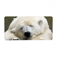 Polar bear 003 Aluminum License Plate