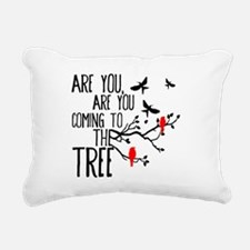 Hanging Tree Rectangular Canvas Pillow