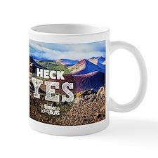 Heck Yes Hawaii's Big Island Mug Mugs