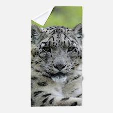 Leopard010 Beach Towel