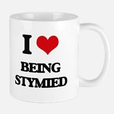 I love Being Stymied Mugs