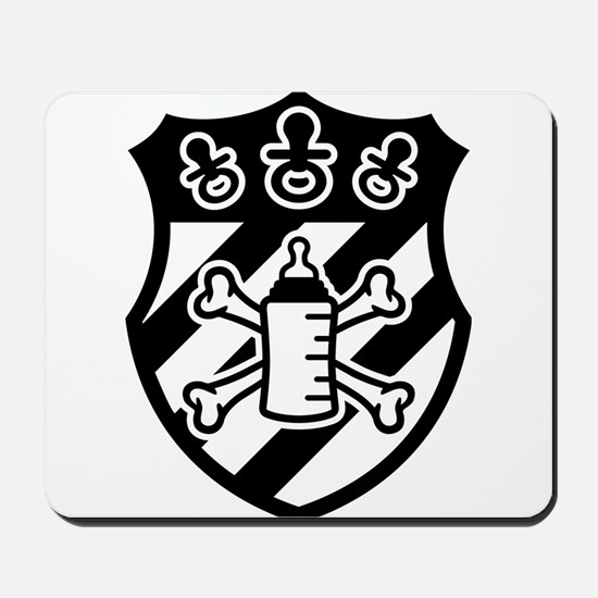 Baby Coat of Arms Mousepad