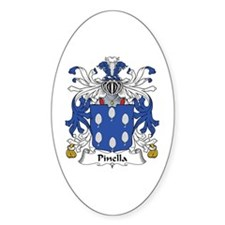 Pinella Oval Decal