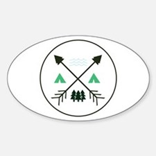 Camping Patch Decal