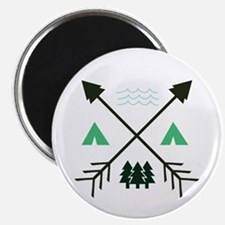 Camping Patch Magnets