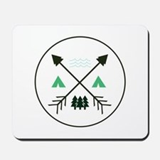 Camping Patch Mousepad