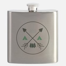 Camping Patch Flask
