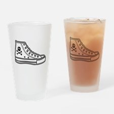Chucks Drinking Glass