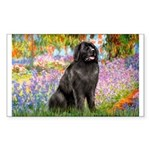 Garden / Newfoundland Sticker (Rectangle)
