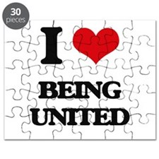 I love Being United Puzzle