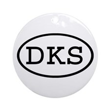 DKS Oval Ornament (Round)