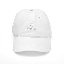 Tortola Sailing Anchor Baseball Baseball Cap