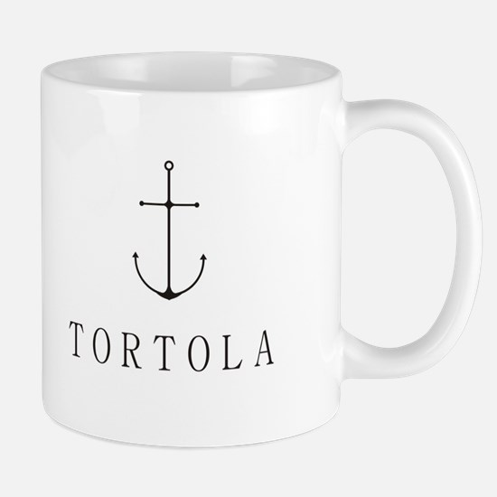 Tortola Sailing Anchor Mugs
