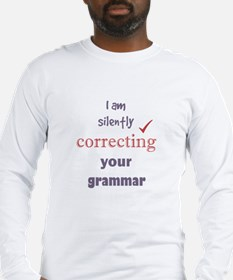Silently Correcting your Grammar Humor Quote Long