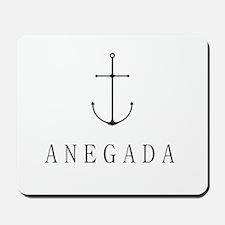 Anegada Sailing Anchor Mousepad
