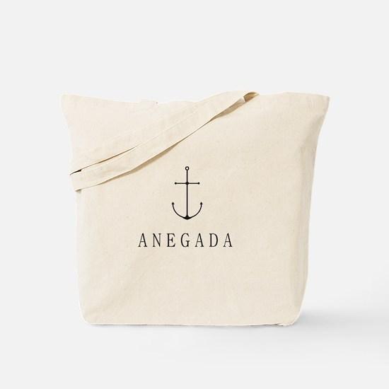 Anegada Sailing Anchor Tote Bag
