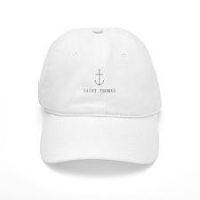 Saint Thomas Sailing Anchor Baseball Baseball Cap
