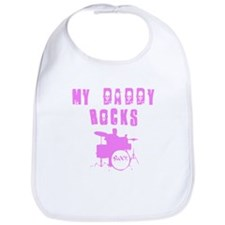 My Daddy Rocks Bib