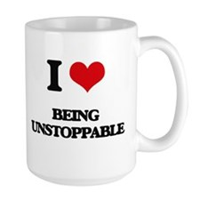 I love Being Unstoppable Mugs