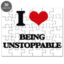 I love Being Unstoppable Puzzle