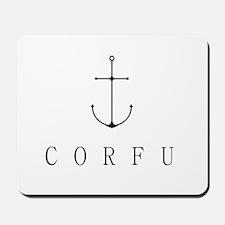 Corfu Sailing Anchor Mousepad