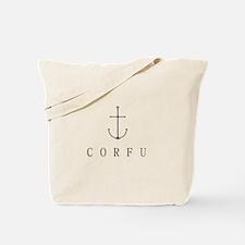Corfu Sailing Anchor Tote Bag