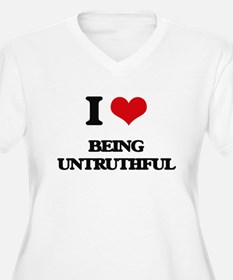 I love Being Untruthful Plus Size T-Shirt