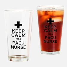Keep Calm PACU Nurse Drinking Glass