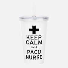 Keep Calm PACU Nurse Acrylic Double-wall Tumbler