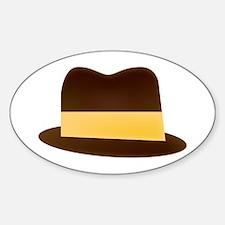 Fedora Hat Decal