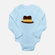 Fedora Hat Body Suit