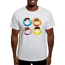 Swirly Whirly Faces T-Shirt