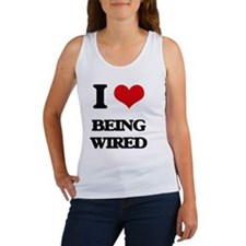 I love Being Wired Tank Top