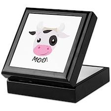 Moo Cow Keepsake Box