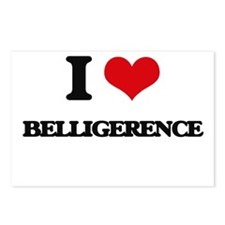 I Love Belligerence Postcards (Package of 8)