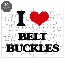 I Love Belt Buckles Puzzle