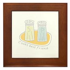 Cooks Best Friend Framed Tile