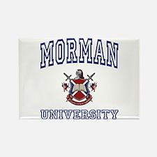 MORMAN University Rectangle Magnet