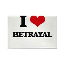 I Love Betrayal Magnets