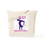 Gymnastics Tote Bag - Handstand