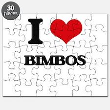 I Love Bimbos Puzzle