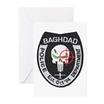 Bagdad Police Sniper Greeting Cards (Pk of 10)
