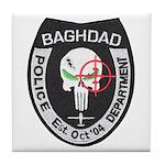 Bagdad Police Sniper Tile Coaster