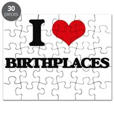 I Love Birthplaces Puzzle