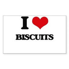 I Love Biscuits Decal