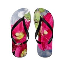 Last Summer Bloom Flip Flops